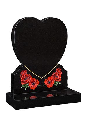 Heart tombstones for sale