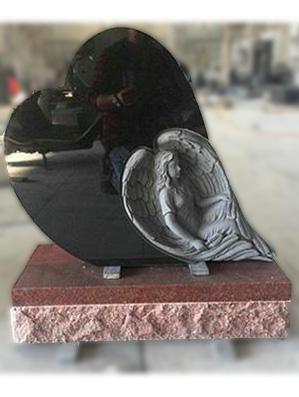 Bespoke Angel & Heart Headstones Online