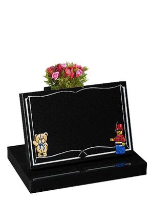 Book and Cartoon Chlidrens memorial Headstones