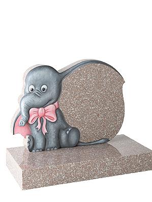 Cartoon Elephant baby Gravestones