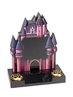 Fairytale Castle Chlidrens Gravestone Scotland
