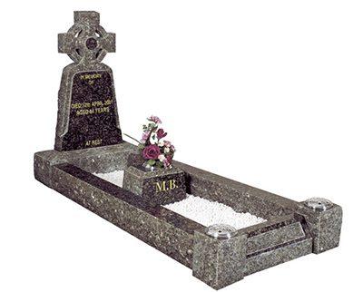 Isle of Lewis kerb set headstones
