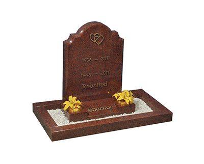 Lock Awe kerb set memorials headstones