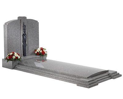 South Ronaldsay memorial kerb set headstones