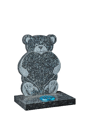 Teddy and Heart Chlidrens Headstones Online prices