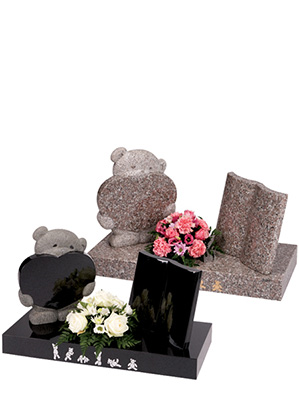 baby and childrens memorial headstones