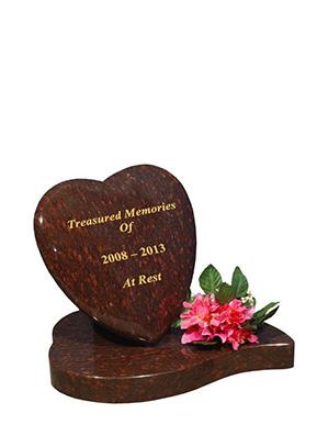 Baby heart headstone prices